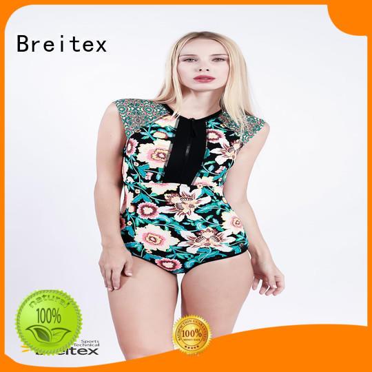 Breitex women's one piece swimwear fashion bulk supply