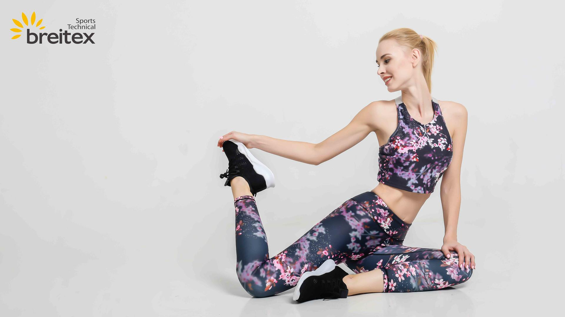 product-Sports Wear Yoga Sets 2020 New Fitness Sublimation Print for Women Tracksuit Yoga Set Gym We-1