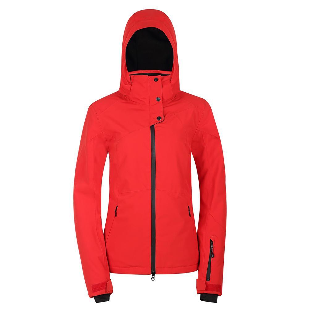 Fashion Ski Jacket with snow locker and waterproof zipper