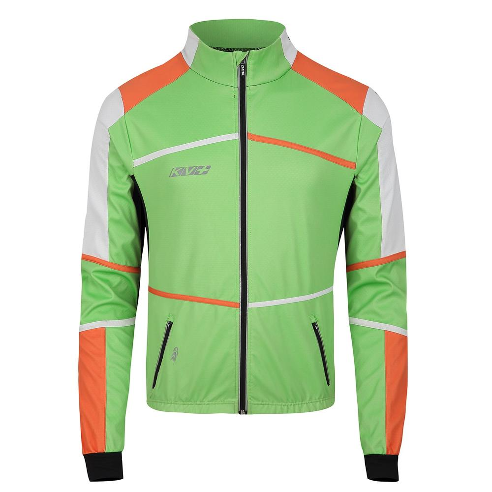 hybrid jacket with silicon anti slip tape for sport