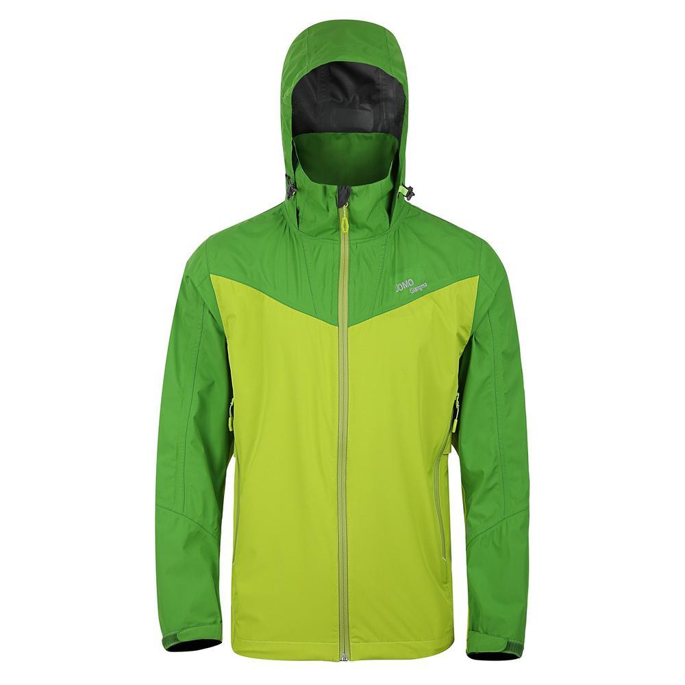 light jacket with heat seal and YKK waterproof zipper