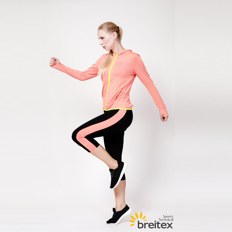 yoga wear for women's hooded finger coat and yoga pants