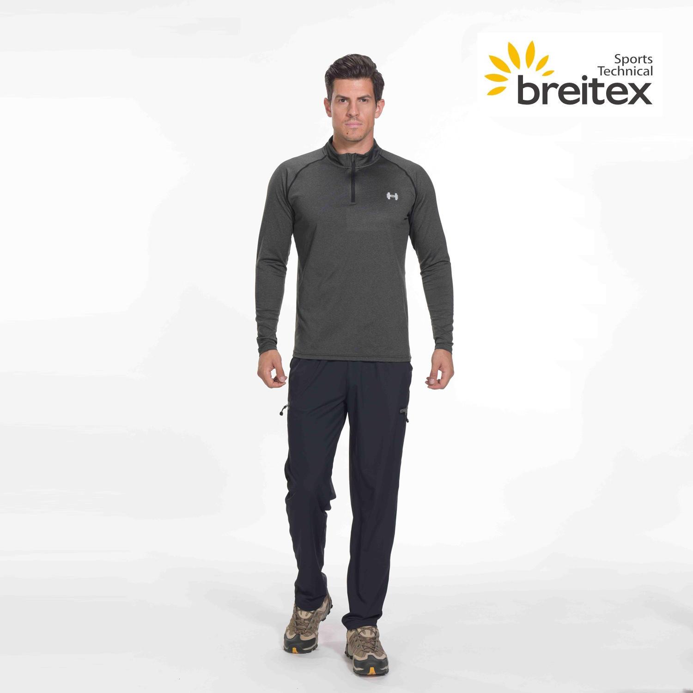 product-Mens sport long sleeve Lapel shirt - BT20SP0325010-RUNNING WEAR- on sale-Breitex-img-1