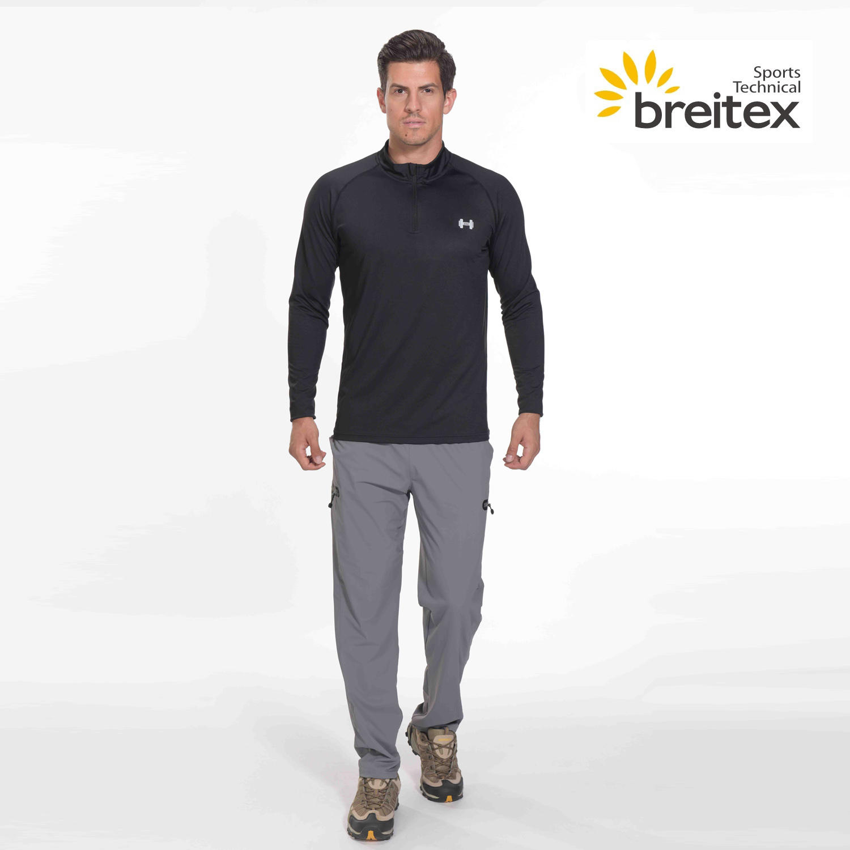 product-Mens sport long sleeve Lapel shirt - BT20SP0325010-RUNNING WEAR- on sale-Breitex-img-2