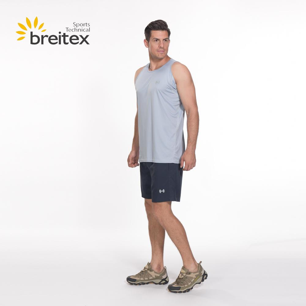 Men Running Sleeveless Grey T-Shirt BT20SP0319005-RUNNING WEAR - on sale