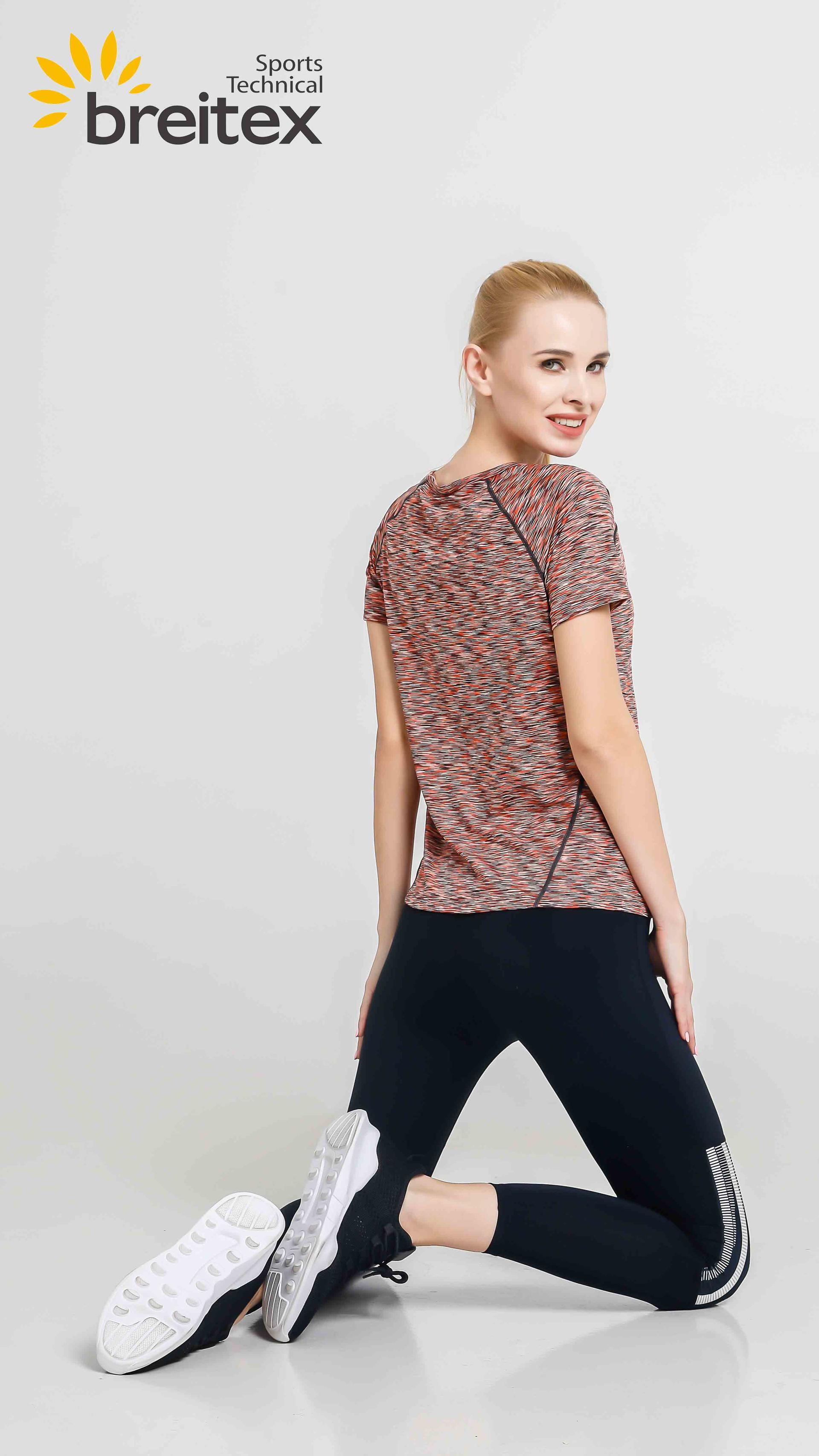 product-Breitex-Womens Running Shirt Round Neck Quick Dry T-Shirt from Breitex-img