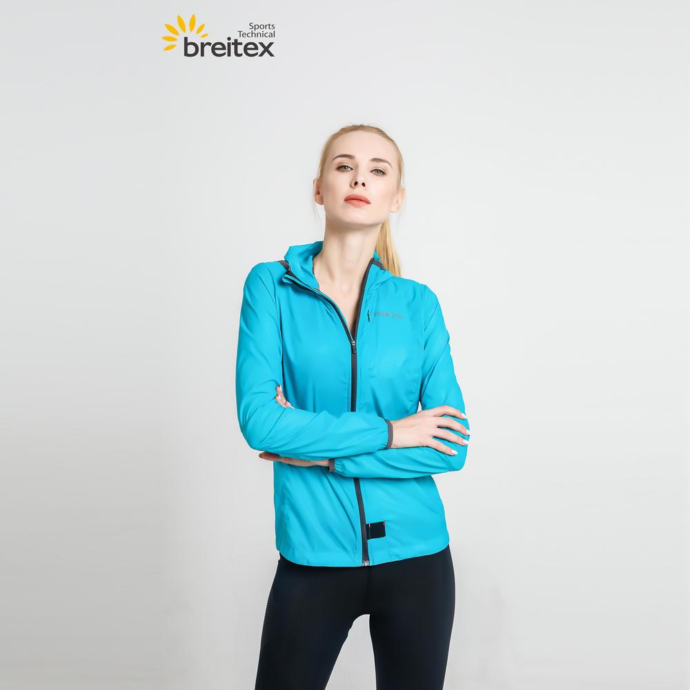Women's lightweight water repellent windbreaker jacket from Breitex