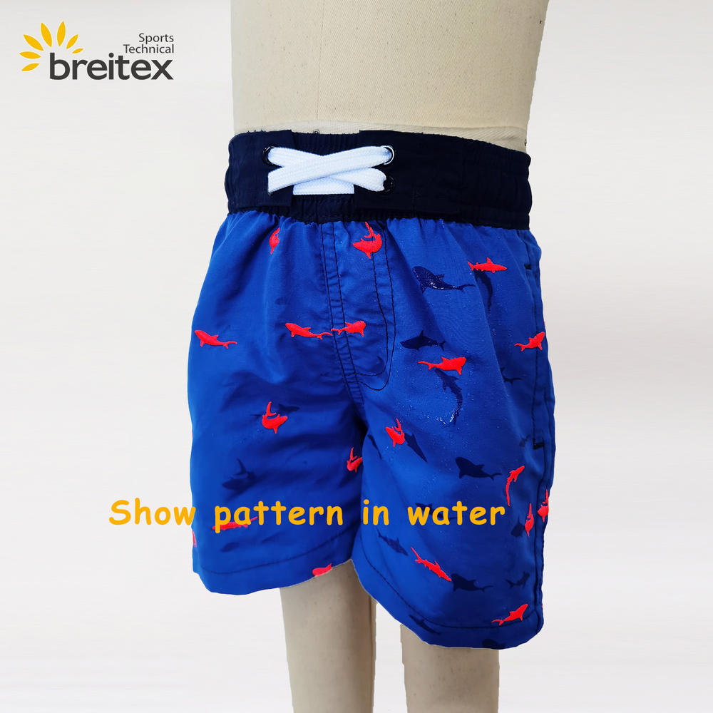 Boys' embroidered swim trunks from Breitex