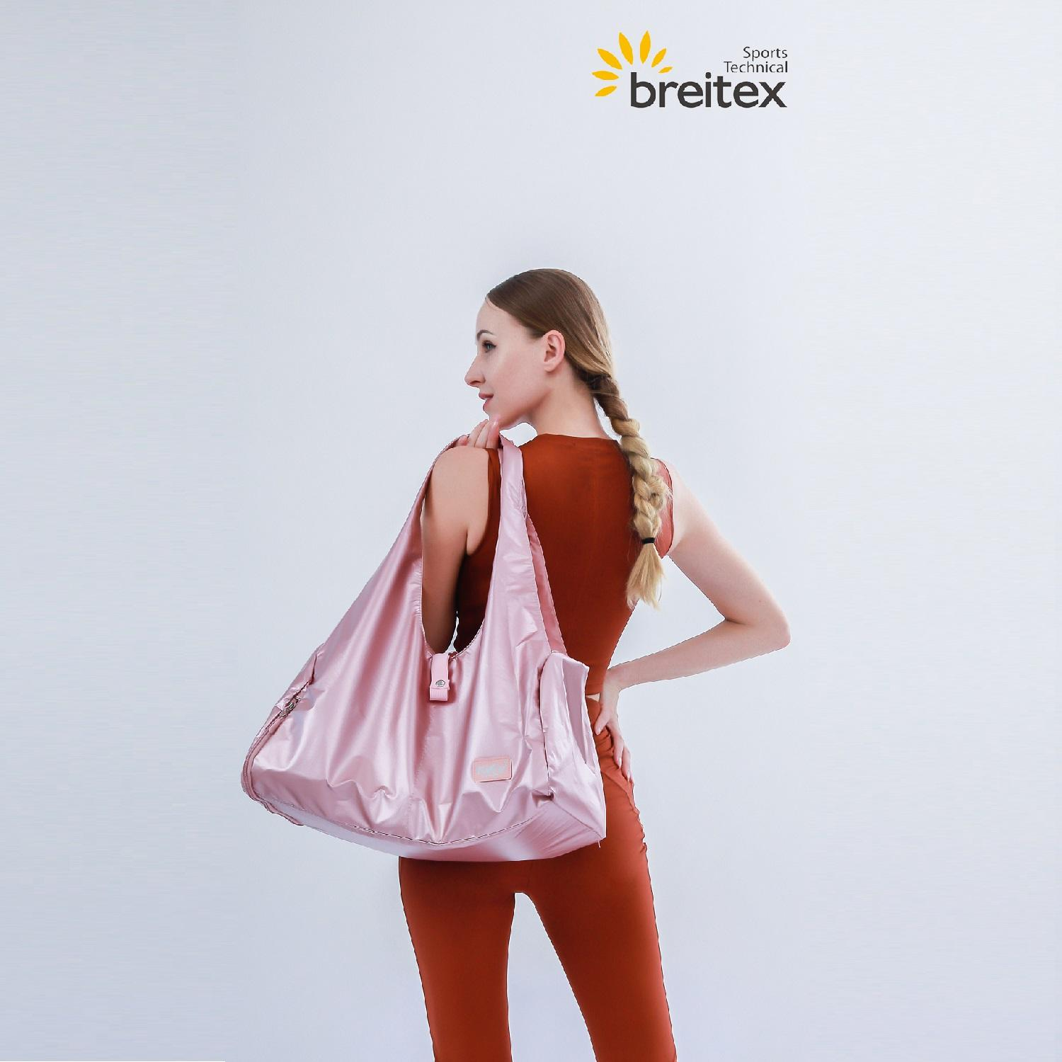 product-Womens Crop Breathe Tank Top and Color Matching Leggings-Breitex-img-1