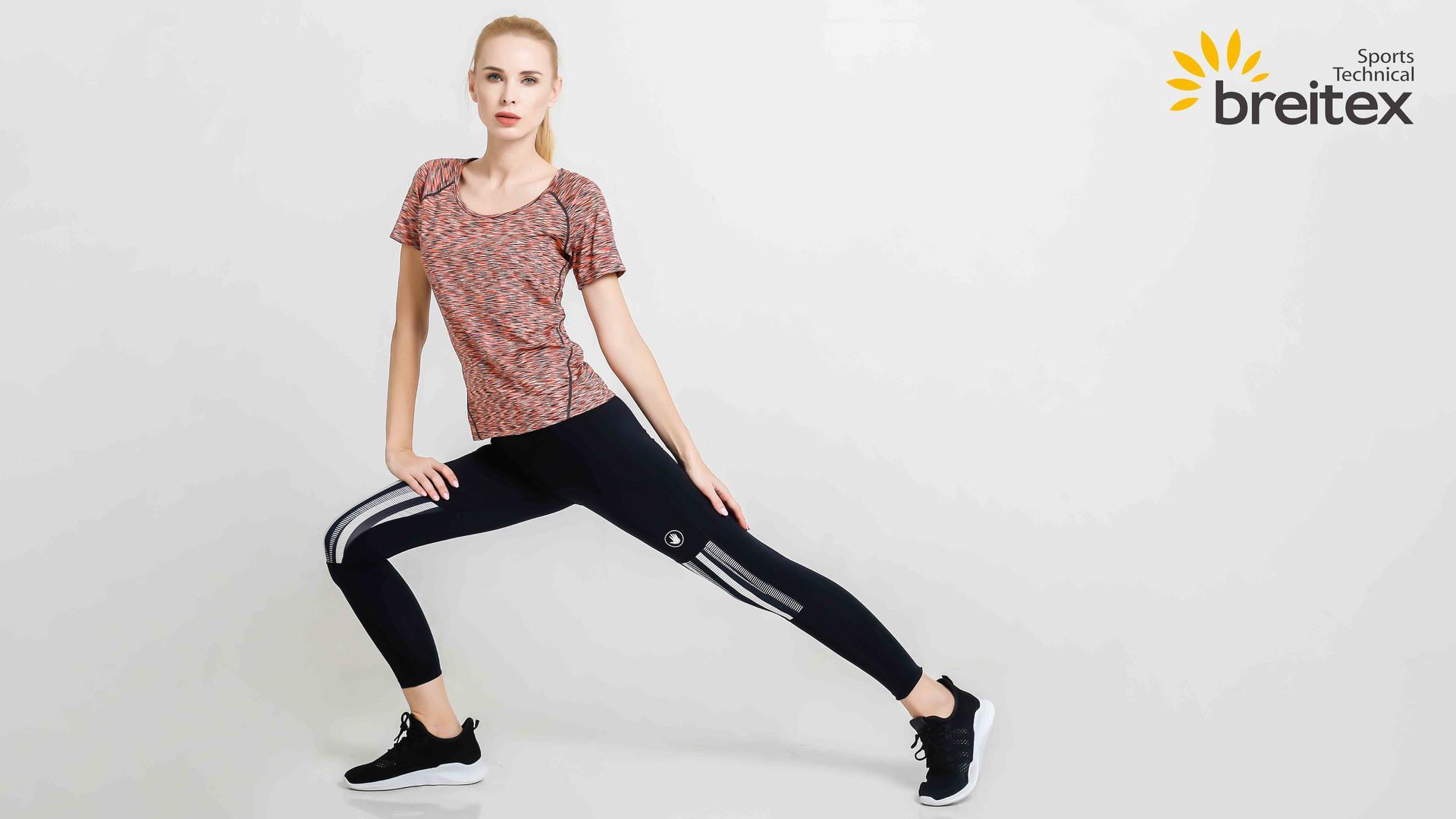 product-Womens Running Shirt Round Neck Quick Dry T-Shirt from Breitex-Breitex-img-1