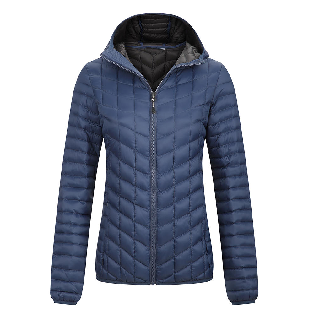 Women's down jackets - quilting seam