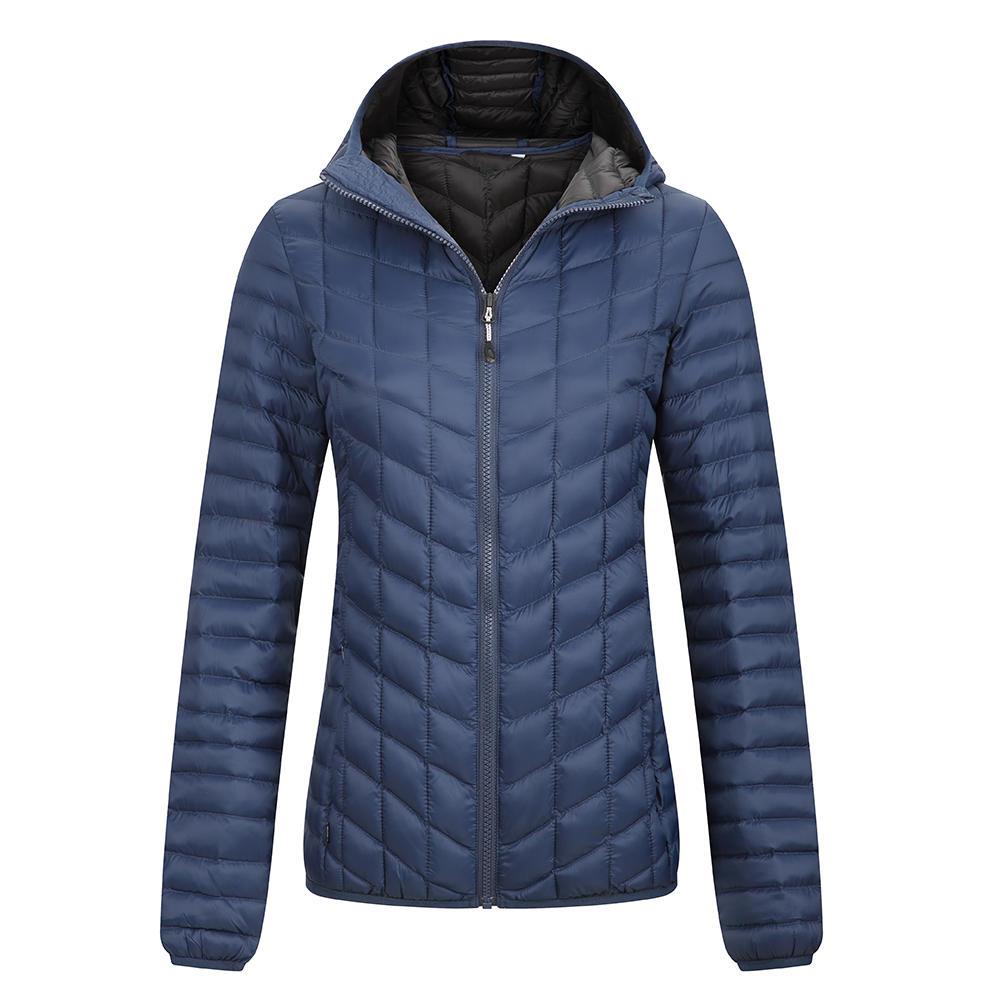 Women's down jackets - quilting seam