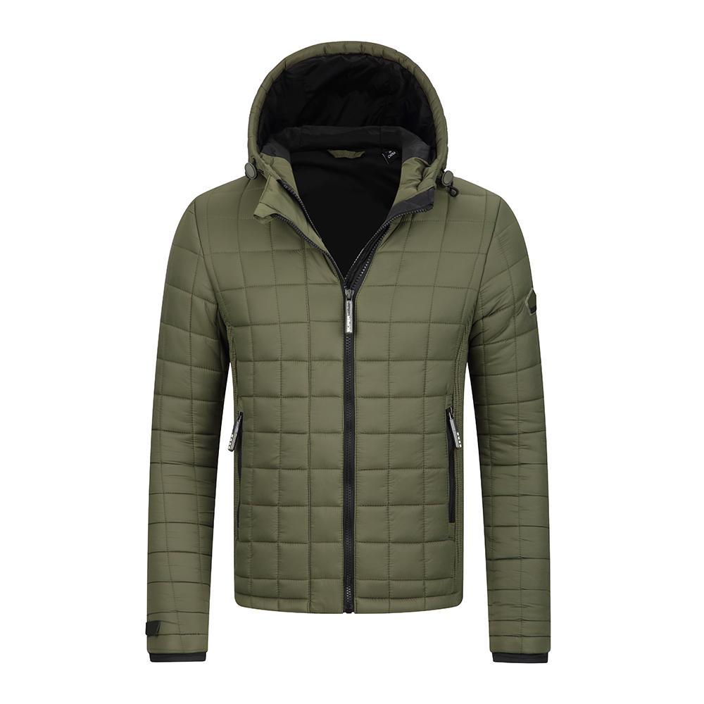 Men's winter jackets- Quilting seam