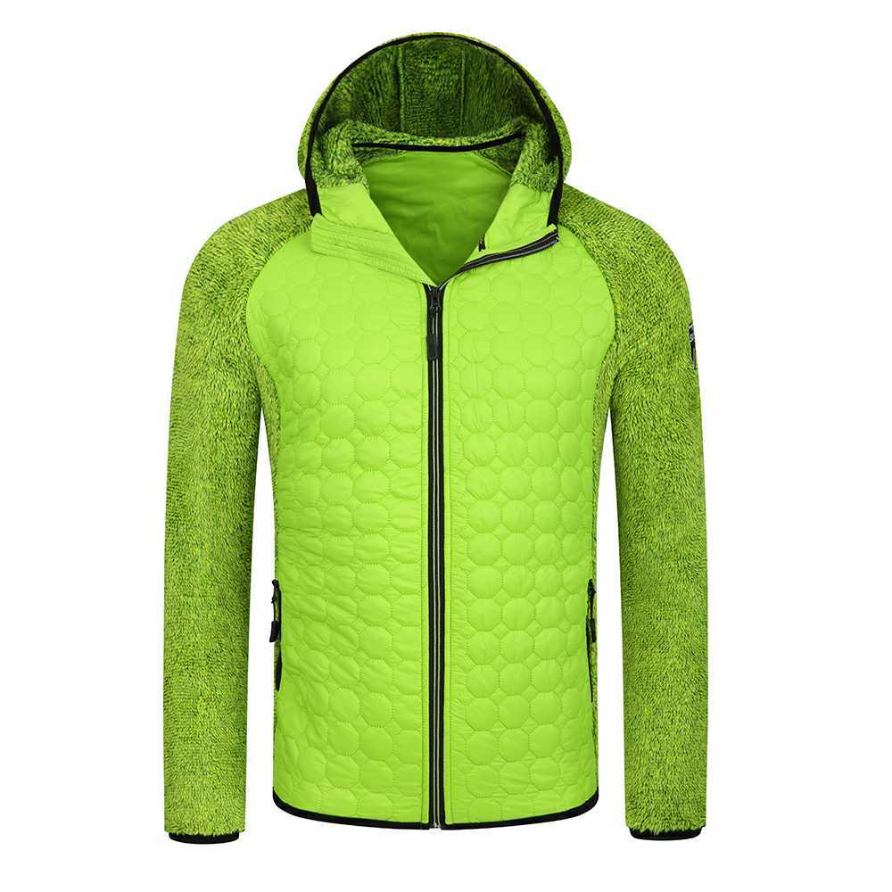 Men's winter hybrid jacket