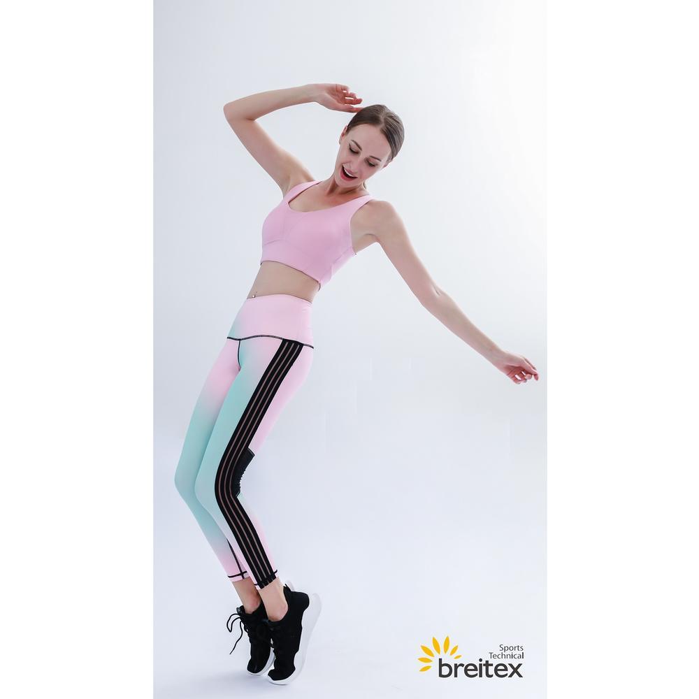 Yoga wear-Breathable compression Neon gradient yoga set