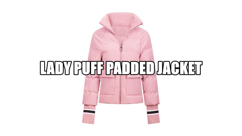 lady puff padded jacket