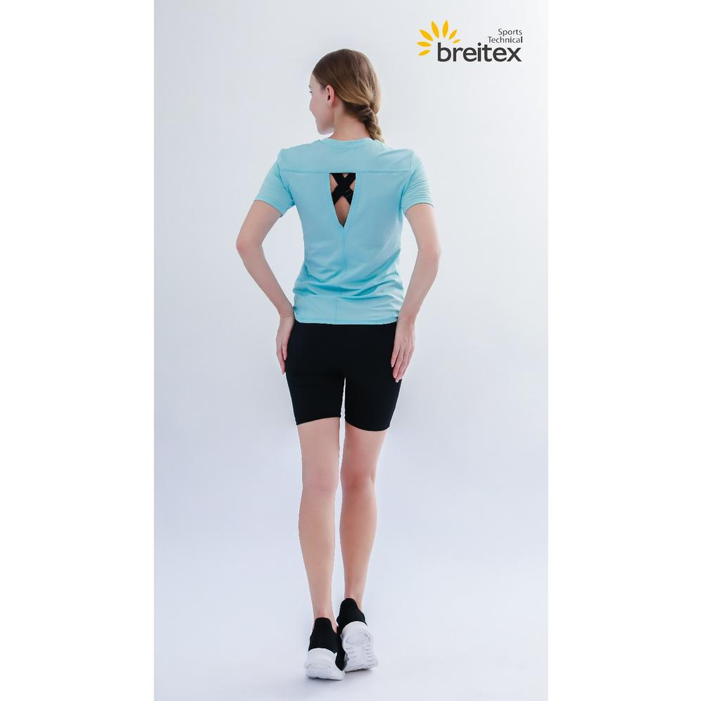 Factory Price Recycled Plain Quick-Drying Shirt For Sports, Fitness and Yoga Wholesale-Breitex