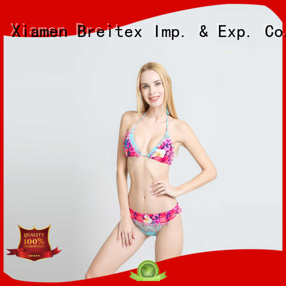 Breitex triangl style bathing suits comfortable factory supply