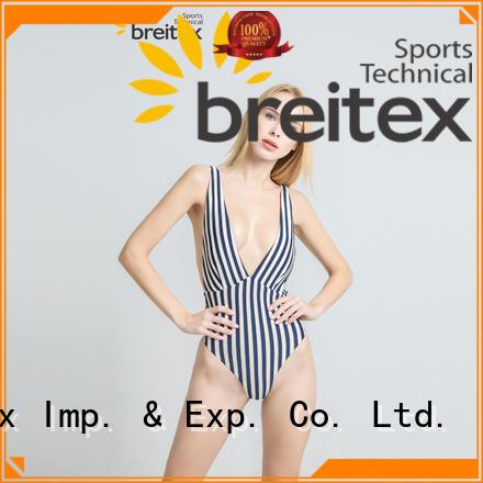 Breitex skin-friendly 1 pc swimsuit oem&odm bulk supply