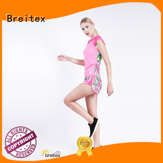 Breitex oem&odm womens running clothes personalized for exercise